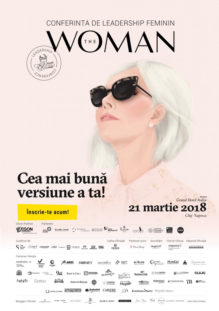 Conferința de Leadership Feminin The Woman din 21 martie